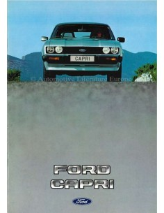 1982 FORD CAPRI BROCHURE DUTCH