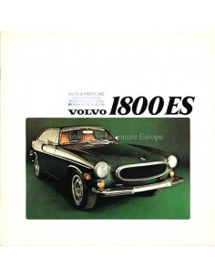 1973 VOLVO 1800 ES BROCHURE ENGLISH