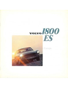 1973 VOLVO 1800 ES BROCHURE DUTCH