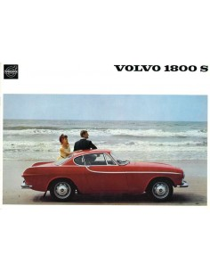 1965 VOLVO 1800 S BROCHURE DUTCH