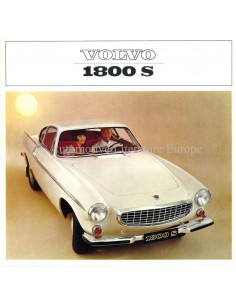 1964 VOLVO 1800 S BROCHURE ENGLISH