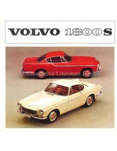 1964 VOLVO 1800 S BROCHURE DUTCH