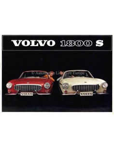 1964 VOLVO 1800 S BROCHURE NEDERLANDS