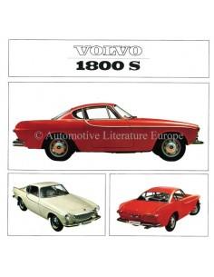 1965 VOLVO 1800 S BROCHURE DUTCH