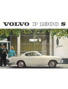 1963 VOLVO P 1800 S BROCHURE DUTCH