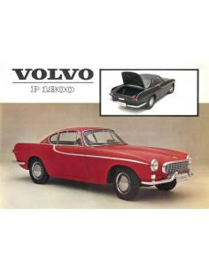 1962 VOLVO P 1800 LEAFLET NEDERLANDS