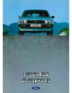 1983 FORD CAPRI BROCHURE DUTCH