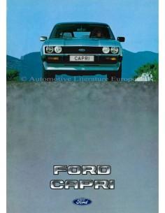 1983 FORD CAPRI PROSPEKT NIEDERLÄNDISCH
