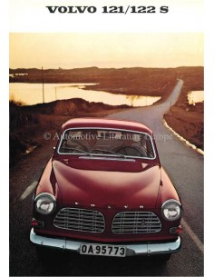 1968 VOLVO 121/122 S BROCHURE DUTCH