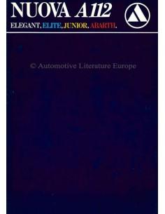 1981 AUTOBIANCHI A112 PROSPEKT ITALIENISCH