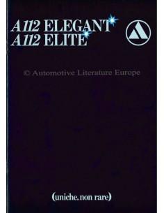 1979 AUTOBIANCHI A112 PROSPEKT ITALIENISCH