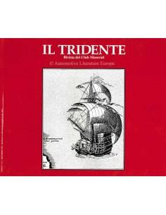 1992 RIVISTA DEL CLUB MASERATI IL TRIDENTE MAGAZIN NO 11
