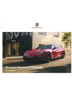 2019 PORSCHE PANAMERA GTS BROCHURE GERMAN