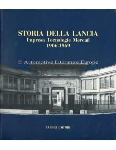 STORIA DELLA LANCIA - IMPRESA TECNOLOGIE MERCATI - 1906-1969 - BOOK