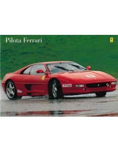1997 FERRARI PILOTA PROSPEKT ITALIENISCH / ENGLISCH