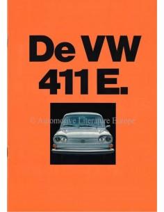 1971 VOLKSWAGEN 411 E BROCHURE DUTCH