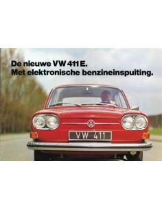 1969 VOLKSWAGEN 411 E BROCHURE DUTCH
