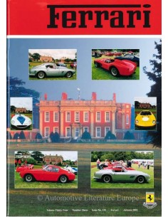 2002 FERRARI CLUB GREAT BRITAIN MAGAZINE 135