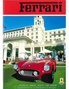 2002 FERRARI CLUB GREAT BRITAIN MAGAZINE 134