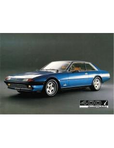 1983 FERRARI 400i AUTOMATIC BROCHURE PROSPEKT 246/82