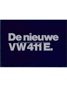 1970 VOLKSWAGEN 411 E PROSPEKT NIEDERLÄNDISCH
