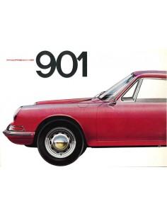 1963 PORSCHE 901 PROSPEKT DEUTSCH