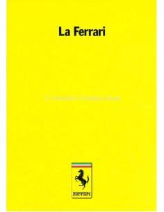 1985 FERRARI LA FERRARI BROCHURE 385/85