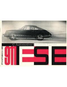 1965 PORSCHE 911 TESTE PROSPEKT DEUTSCH