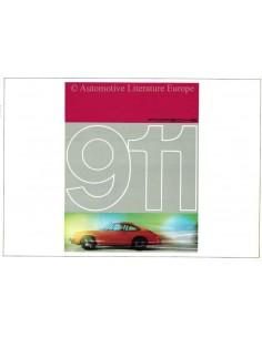 1965 PORSCHE 911 PROSPEKT DEUTSCH
