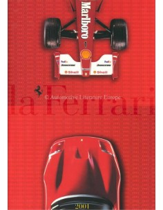 2001 FERRARI LA FERRARI BROCHURE ITALIAN / ENGLISH
