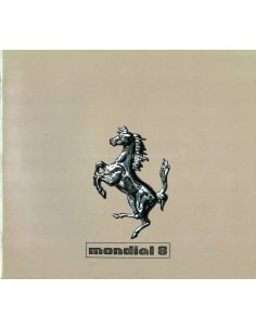 1980 FERRARI MONDIAL 8 BROCHURE 199/80