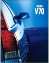 2000 VOLVO V70 BROCHURE DUITS