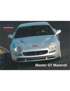 1999 MASTER GT MASERATI BROCHURE