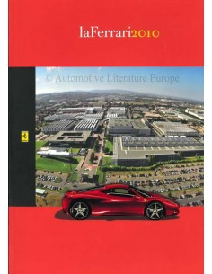 2010 FERRARI LA FERRARI BROCHURE ITALIAN / ENGLISH