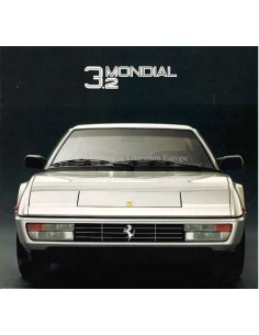 1985 FERRARI MONDIAL 3.2 BROCHURE 388/85