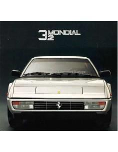 1985 FERRARI MONDIAL 3.2 PROSPEKT 388/85