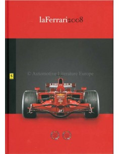 2008 FERRARI LA FERRARI BROCHURE ITALIAN / ENGLISH