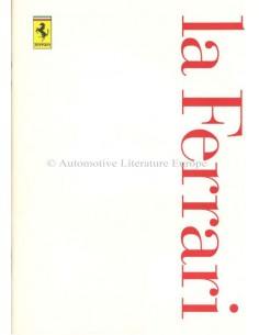 1997 FERRARI LA FERRARI BROCHURE ITALIAN / ENGLISH