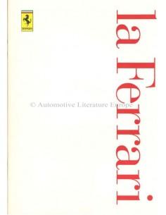 1997 FERRARI LA FERRARI PROSPEKT ITALIENISCH / ENGLISCH