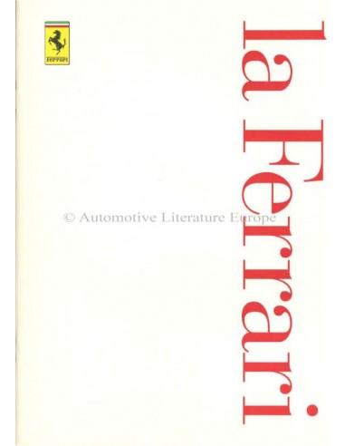 1997 FERRARI LA FERRARI BROCHURE ITALIAANS / ENGELS