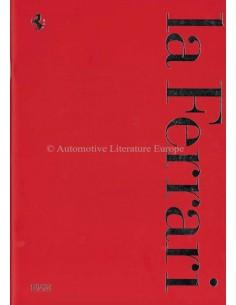 1998 FERRARI LA FERRARI PROSPEKT ITALIENISCH / ENGLISCH