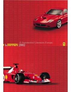 2002 FERRARI LA FERRARI BROCHURE ITALIAN / ENGLISH