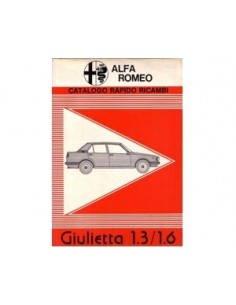1978 ALFA ROMEO GIULIETTA SHARE PARTS CATALOG