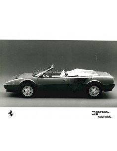 1988 FERRARI MONDIAL 3.2 CABRIOLET PRESSEBILD