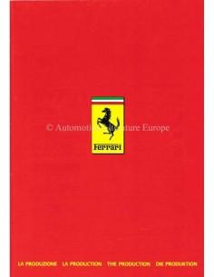 1986 FERRARI PROGRAMMA BROCHURE PROSPEKT 409/86
