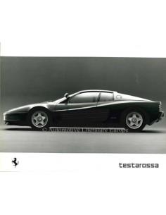 1988 FERRARI TESTAROSSA PRESSEBILD