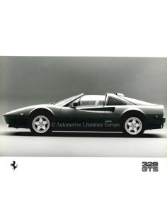 1988 FERRARI 328 GTS PRESS PHOTO