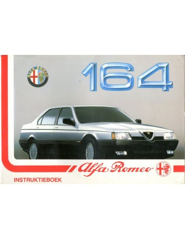 1990 ALFA ROMEO 164 INSTRUCTIEBOEKJE NEDERLANDS