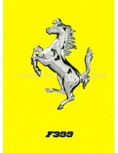 1980 FERRARI 312 / T5 BROCHURE ITALIAANS 1445/99
