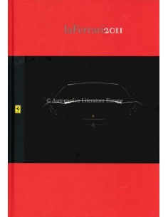2011 FERRARI LA FERRARI HARDCOVER PROSPEKT ITALIENISCH / ENGLISCH
